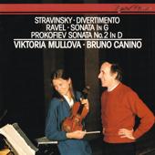 Ravel: Violin Sonata - Prokofiev: Violin Sonata No. 2 - Stravinsky: Divertimento