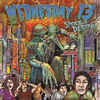 Spook & Destroy – Wednesday 13