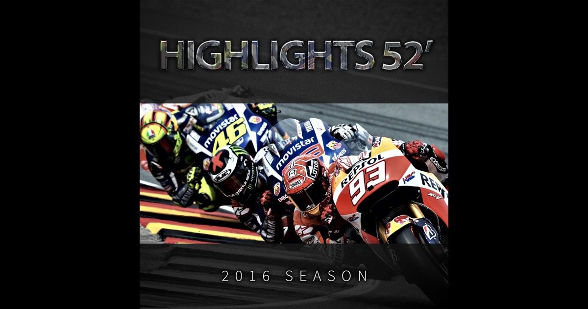 """""""2016 MotoGP Highlights"""" in iTunes"""