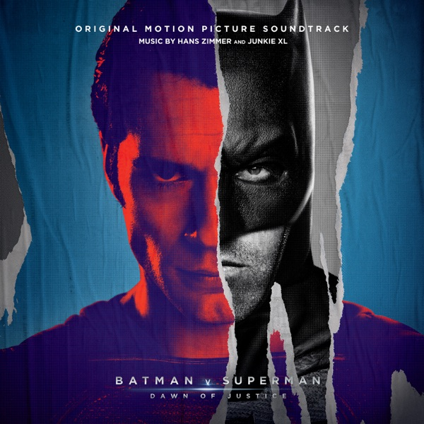 Batman v Superman Dawn of Justice Original Motion Picture Soundtrack Deluxe Edition Hans Zimmer  Junkie XL CD cover