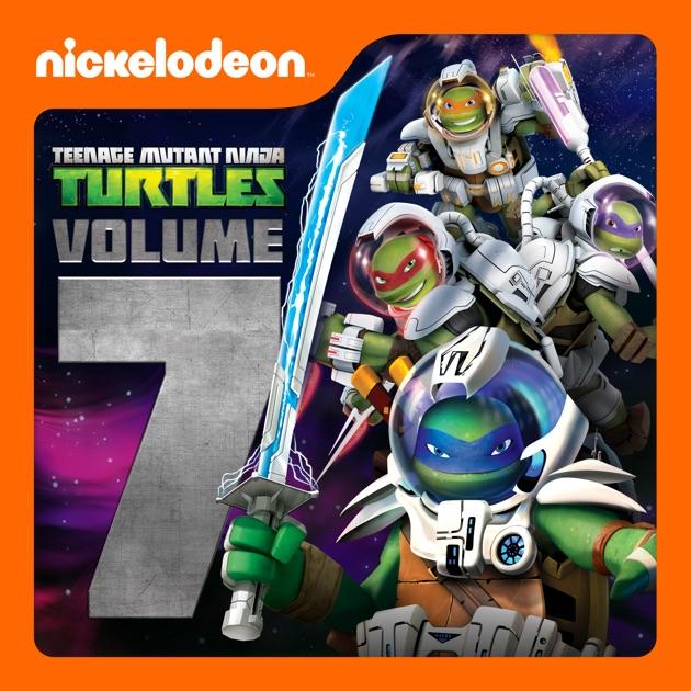 7 mutant ninja teenage turtle volume