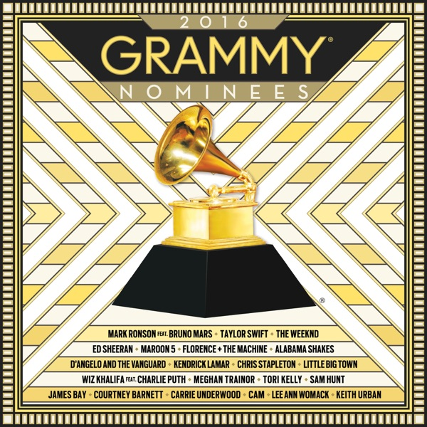 2016 GRAMMY Nominees Various Artists CD cover