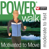 Power Walk - Motivated to Move (47 Min Non-Stop Workout [130-141 BPM] Perfect for Moderate to Fast Paced Walking, Elliptical, Cardio Machines and General Fitness)