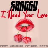 Shaggy - I Need Your Love (feat. Mohombi, Faydee & Costi) artwork