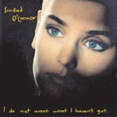 Sinead O'Connor - Nothing Compares 2 U artwork