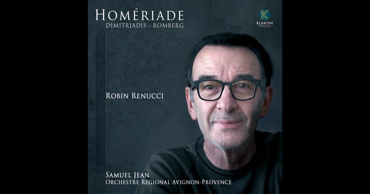martin romberg hom riade de robin renucci orchestre r gional avignon provence samuel jean en. Black Bedroom Furniture Sets. Home Design Ideas