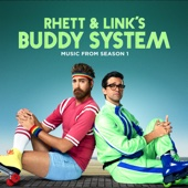 Cover to Rhett and Link's Buddy System (Music from Season 1)