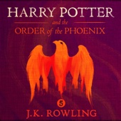 Harry Potter and the Order of the Phoenix, Book 5 (Unabridged) - J.K. Rowling Cover Art