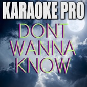 Don't Wanna Know (Originally Performed by Maroon 5) [Instrumental Version]