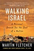 Walking Israel - Martin Fletcher Cover Art