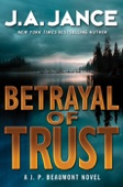 Betrayal of Trust - J. A. Jance Cover Art