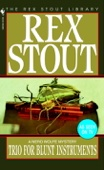 Rex Stout - Trio for Blunt Instruments artwork