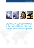 Growth and competitiveness in the United States: The role of its multinational companies