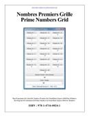 Nombres Premiers Grille Prime Numbers Grid