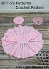 13- Summer Satin Baby Dress Crochet Pattern 13
