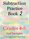 Subtraction Practice Book 2 Grades 4-5