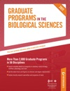 Petersons Graduate Programs In The Biological  Biomedical Sciences Anatomy And Biochemistry