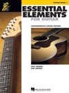 Essential Elements For Guitar Book 1 Music Instruction