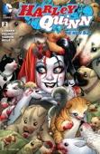 Harley Quinn (2013- ) #2 - Amanda Conner, Jimmy Palmiotti, Chad Hardin & Stephane Roux Cover Art