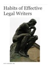 Habits Of Effective Legal Writers