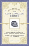 Lets Bring Back The Lost Language Edition