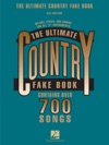 The Ultimate Country Fake Book  Songbook