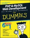 PHP And MySQL Web Development All-in-One Desk Reference For Dummies
