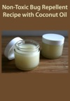 Non-Toxic Bug Repellent Recipe With Coconut Oil
