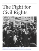 The Fight for Civil Rights: 3 Pivotal Speeches