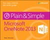 Microsoft OneNote 2013 Plain  Simple
