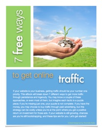 7 FREE WAYS TO GET ONLINE TRAFFIC