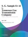 S G Sample Et Al V Tennessee Gas Transmission Company