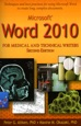 Microsoft Word 2010 for Medical and Technical Writers, Second Edition