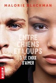 ENTRE CHIENS ET LOUPS T03 : LE CHOIX DAIMER