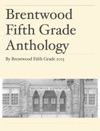 Brentwood Fifth Grade Anthology