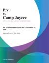 PV V Camp Jaycee