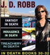 JD Robb IN DEATH COLLECTION Books 30-32