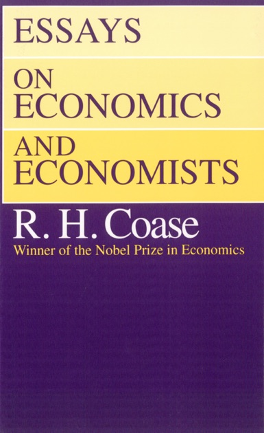 Essay on economics