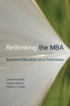 Rethinking The MBA