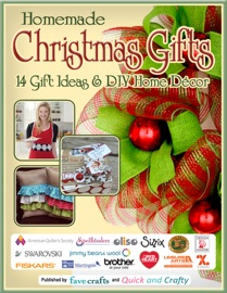Homemade Christmas Gifts:  14 Gift Ideas & DIY Home Decor - Editors of FaveCrafts Book