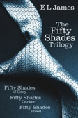 E L James - Fifty Shades Trilogy: Fifty Shades of Grey / Fifty Shades Darker / Fifty Shades Freed artwork