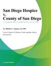 San Diego Hospice V County Of San Diego