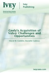 Geelys Acquisition Of Volvo Challenges And Opportunities