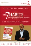 Principles And Paradigms The 7 Habits Foundational Principles Volume 2