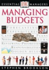 DK Essential Managers Managing Budgets