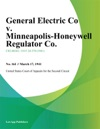 General Electric Co V Minneapolis-Honeywell Regulator Co