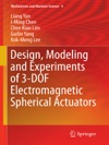 Design Modeling And Experiments Of 3-DOF Electromagnetic Spherical Actuators