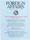 Foreign Affairs - MarchApril 1999