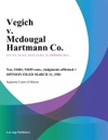 Vegich V Mcdougal Hartmann Co