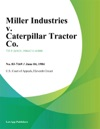 Miller Industries V Caterpillar Tractor Co